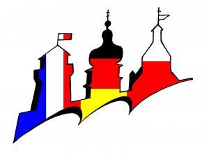 Logo der trilateralen Städtepartnerschaft