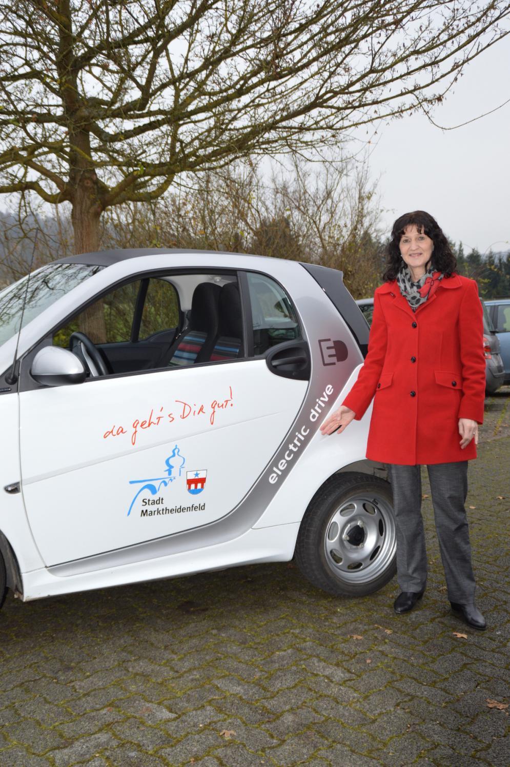Elektroauto der Stadt Marktheidenfeld