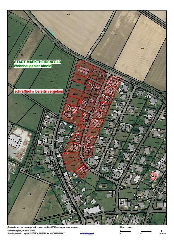 Baugebiet Altfeld Holzwiese August 2017