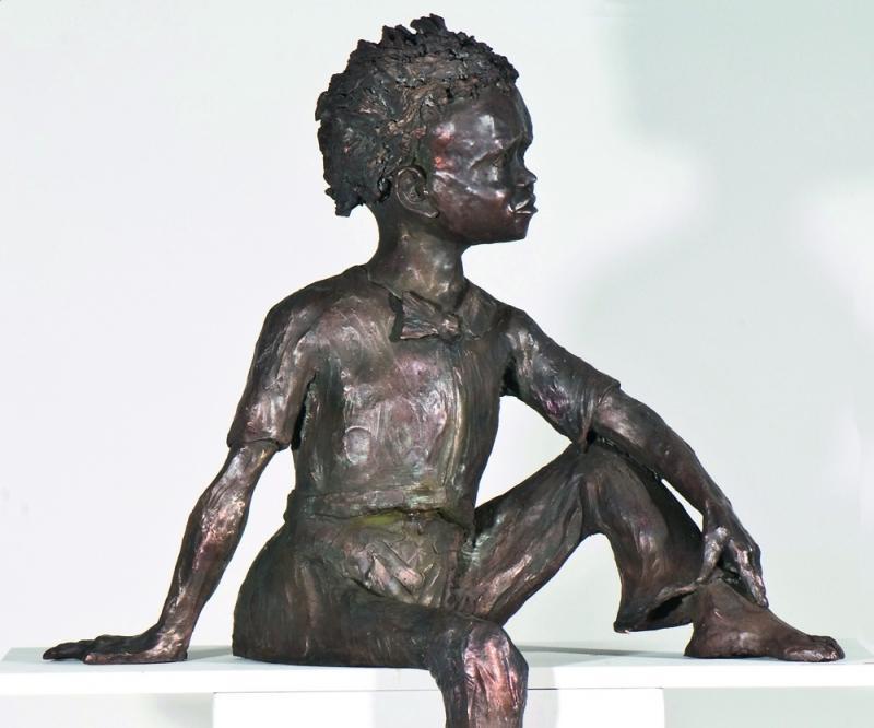 Haushalt & Küche Alte Originale Bowlingspieler Figur Skulptur Bronze Hohe QualitäT Und Preiswert